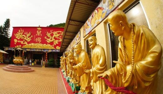 映画「インファナル・アフェア」のロケ地、香港の沙田にある萬佛寺に行ってみた